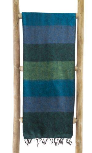 groen gestreepte sjaal online kopen 2